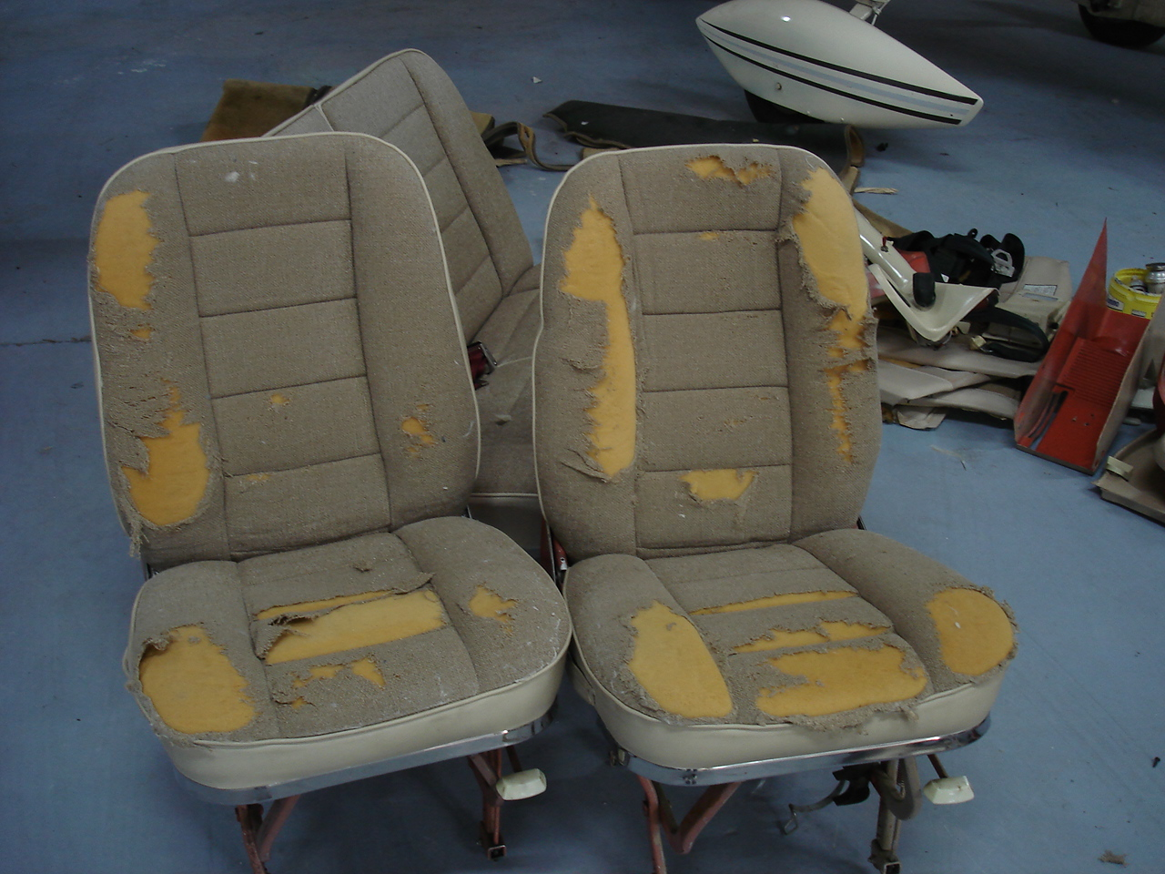 Cessna 172 Seat Covers Velcromag